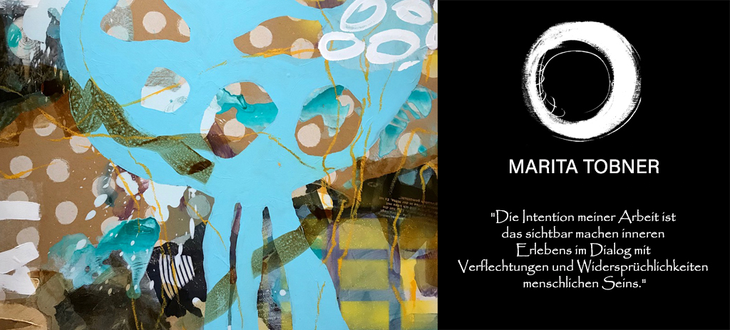Marita Tobner Kunst Collage